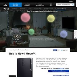 Move Motion Controller – PlayStation®Move Info, Games & Community