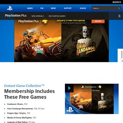 Network – PSN Games, Movies & TV for PS3™ & PSP®, PlayStation® Trophies