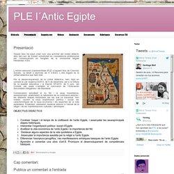 PLE l´Antic Egipte: Presentació
