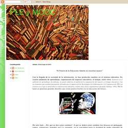 PLE y MOOC: 2012-05-20
