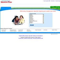 Education Place® Washington Reading/Language Arts