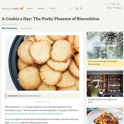 A Cookie a Day: The Porky Pleasure of Biscochitos