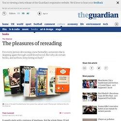 The pleasures of rereading