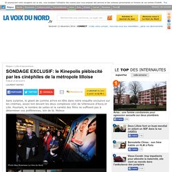 SONDAGE EXCLUSIF: le Kinepolis plébiscité par les cinéphiles de la métropole lilloise - Lille et ses environs