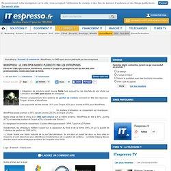 WordPress : le CMS open source plébiscité par les entreprises