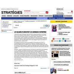Les salariés plébiscitent les journaux d'entreprise - page 2