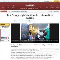 Annexe 4: Les Français plébiscitent la restauration rapide