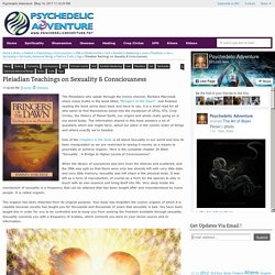 Pleiadian Teachings on Sexuality & Consciousness