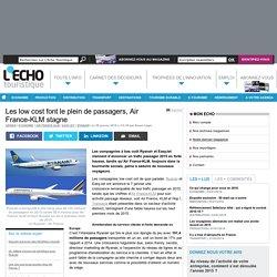 Les low cost font le plein de passagers, Air France-KLM stagne