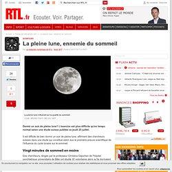 La pleine lune, ennemie du sommeil