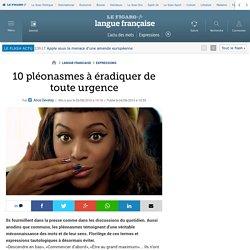 10 pléonasmes à éradiquer de toute urgence