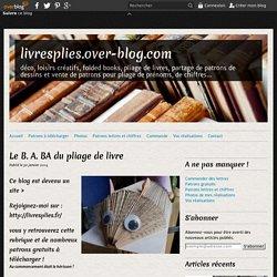 Le B. A. BA du pliage de livre - livresplies.over-blog.com