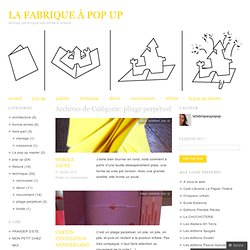 La fabrique à pop up