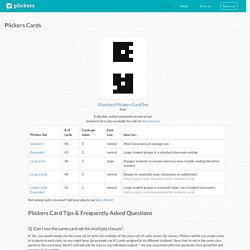 Plickers - Clickers, Simplified
