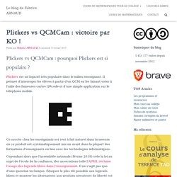 Plickers vs QCMCam