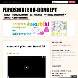 comment plier mon furoshiki « furoshiki eco-concept