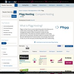 Pligg Hosting: Find The Host With The Support You Need