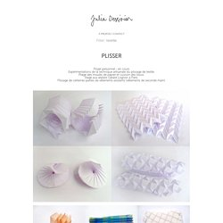 PLISSER - julia-dessirier