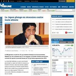 Le Japon plonge en récession contre toute attente