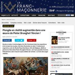 Plongée en réalité augmentée dans une œuvre de Pieter Brueghel l'Ancien !