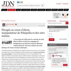 Plongée au coeur d'iStrat, manipulateur de Wikipedia et des sites médias