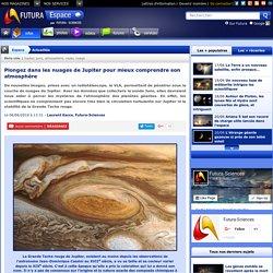 Plongez dans les nuages de Jupiter pour mieux comprendre son atmosphère