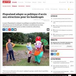Plopsaland adapte sa politique d'accès aux attractions pour les handicapés