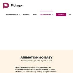 Turn ordinary writing into animated movies