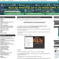 PLOTAGON : transformer un dialogue en film d'animation - Blog des AnimTICE 1er et 2d degrés DDEC 35