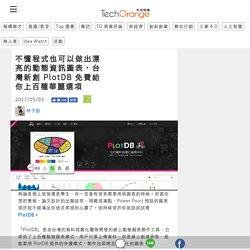 不懂程式也可以做出漂亮的動態資訊圖表,台灣新創 PlotDB 免費給你上百種華麗選項
