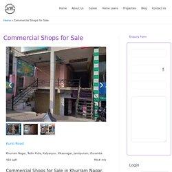Commercial Shops for Sale -