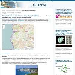 @ Brest - Plouarzel, une commune qui utilise Openstreetmap