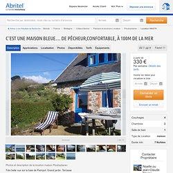 Maison Ploubazlanec - C'est une maison bleue.... de pêcheur,confortable, à 100m de la mer 1142099