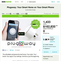 Plugaway: Your Smart Home on Your Smart Phone by John Storm (Torrap)