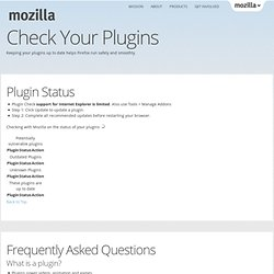 Plugins :: Modules pour Firefox