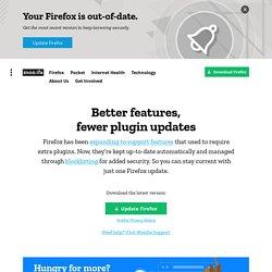 Firefox Web Browser — Plugin Check & Updates