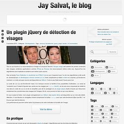 Un plugin jQuery de détection de visages