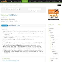 Plugins Directory: TaskChain