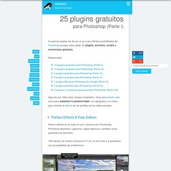 25 plugins gratuitos para Photoshop (Parte I)