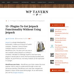 15+ Plugins To Get Jetpack Functionality Without Using Jetpack
