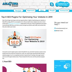 Top 8 SEO Plugins For Optimizing Your Website In 2019