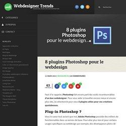 8 plugins Photoshop pour le webdesign