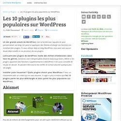 Les 10 plugins les plus populaires sur WordPress