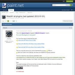 MadJik' all plugins (last updated: 2012-01-01) - Plugins - Publishing ONLY!
