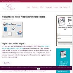 10 plugins pour rendre votre site WordPress efficace