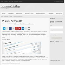 17+ plugins Wordpress SEO
