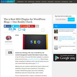 The 9 Best SEO Plugins for WordPress Blogs + One Reality Check