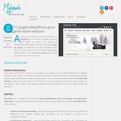 13 plugins WordPress pour gérer votre webzine
