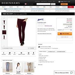 Plum skinny jeans - Debenhams.com