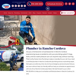 Budget-Friendly Plumbers in Rancho Cordova, CA